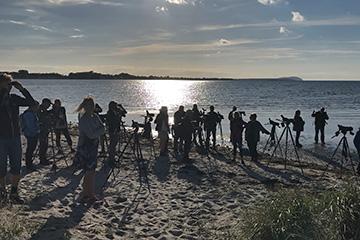 Måndagsexkursion till Sandön, 3 augusti 2020. Foto Marie Nordbye