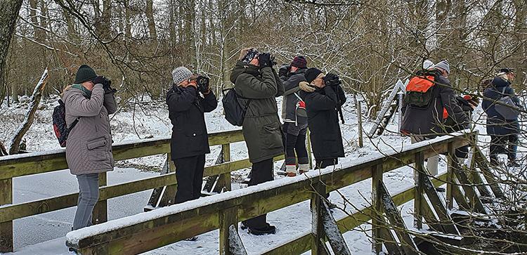 Med KOF till Bjuv och Åvarp i januari 2021, foto Totta Sandberg