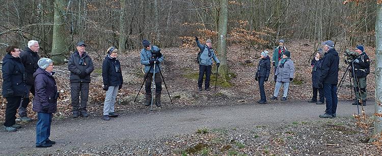 Måndagsexkursion till Björkeröd. Foto Totta Sandberg