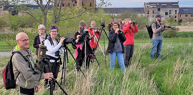 Måndagsexkursion till Hasslarp. Foto Micke Jönsson