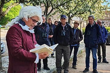 Måndagsexkursion till Krapperup. Foto Totta Sandberg