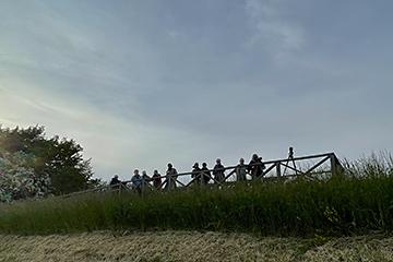 Måndagsexkursion till Hasslarp. Foto Thomas Wallin