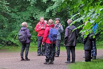 Måndagsexkursion till Krapperup. Foto Micke Jönsson
