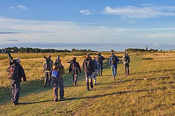 Exkursion till Falsterbo. Foto Totta Sandberg