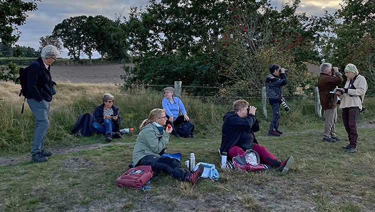 Tjejexkursion till Rönnen. Foto Berit Velden